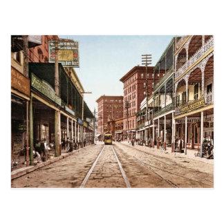 St- Charlesstraße New Orleans 1900 Postkarte