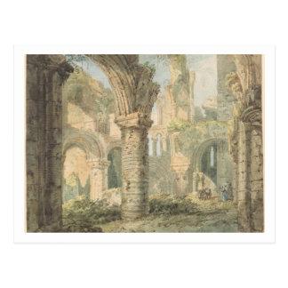 St Cuthbert heilige Insel, 1797 (w/c über Postkarte