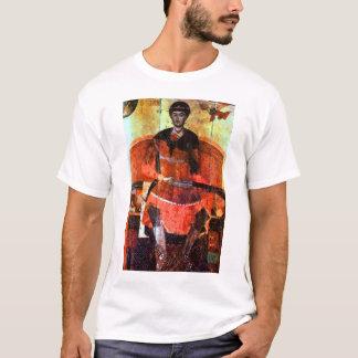 St. Demetrius von Saloniki inthronisierte T-Shirt