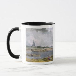 """St Denis, """"von den Ansichten über die Seine"""", Tasse"""