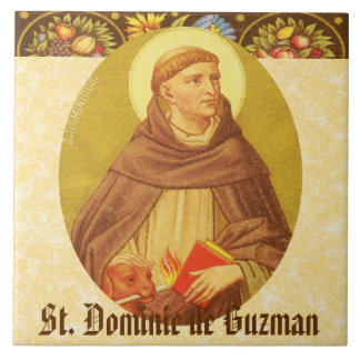 St Dominic de Guzman (P.M. 02a) Keramikfliese