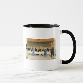 St Dominic und seine Begleiter gefüttert durch Tasse