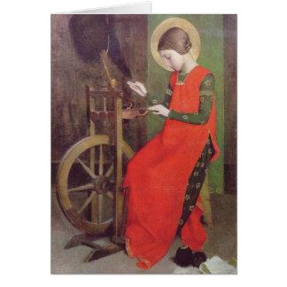 St. Elizabeth von Ungarn durch Marianne schürt Karte