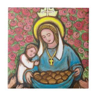 St. Elizabeth von Ungarn Keramikfliese