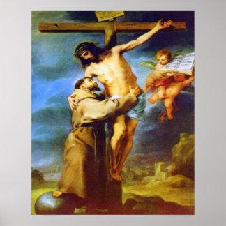 St. Frances von Plakat Assisis 2