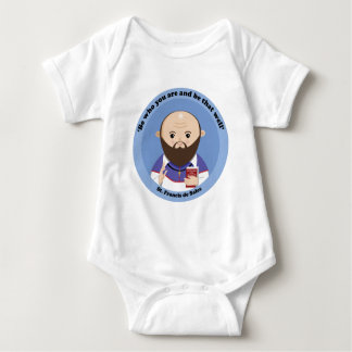 St Francis de Sales Baby Strampler