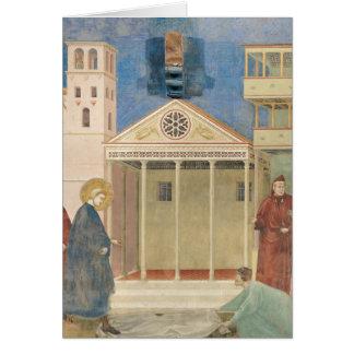 St Francis ehrte durch einen einfachen Mann, Karte