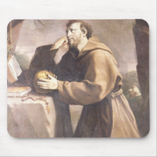 St Francis von Assisi am Gebet Mousepad