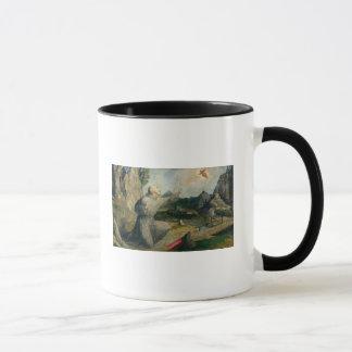 St Francis von Assisi die Schanden empfangend Tasse