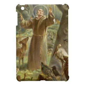 St Francis von Assisi predigend zu den Tieren iPad Mini Hülle