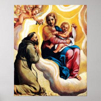 St Francis von Assisi - San Francisco de Asis 12 Poster