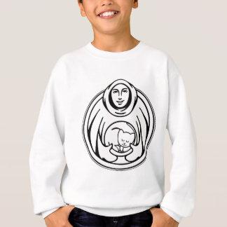 St- Francispflegeheimschwarzlogo Sweatshirt