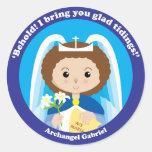 St. Gabriel the Archangel Round Sticker