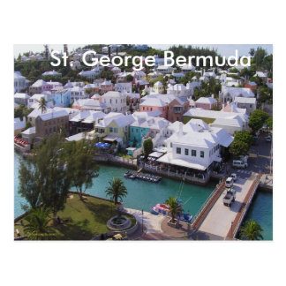 St George Bermuda Postkarten