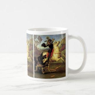 St George und der Drache Kaffeetasse
