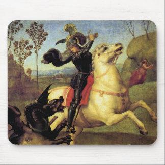 St George und der Drache Mousepad