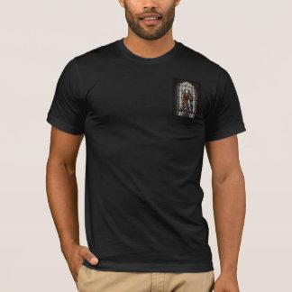 St- GeorgeBuntglasfenster - Monogramm T-Shirt