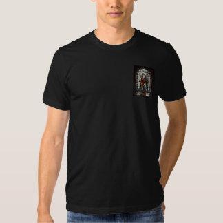 St- GeorgeBuntglasfenster - Monogramm Tshirts
