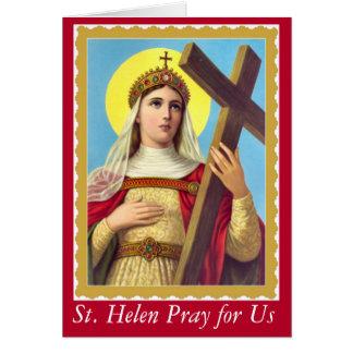 St. Helen des wahren Kreuzes Karte