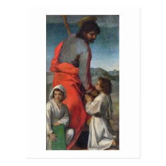 St. Jakob, c.1524-29 (Öl auf Leinwand) Postkarten