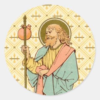St James das größere (RLS 05) Runder Aufkleber