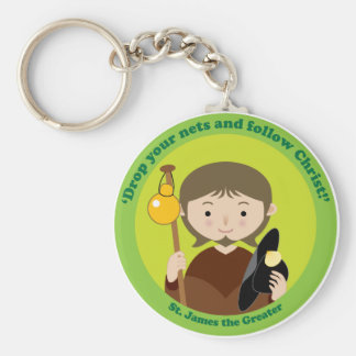 St James das größere Schlüsselanhänger
