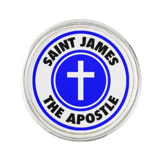 St James der Apostel Anstecknadel