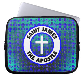 St James der Apostel Laptopschutzhülle