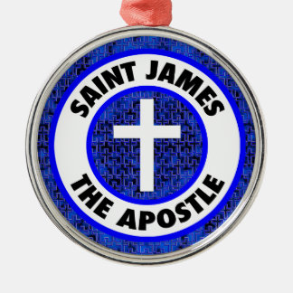 St James der Apostel Silbernes Ornament