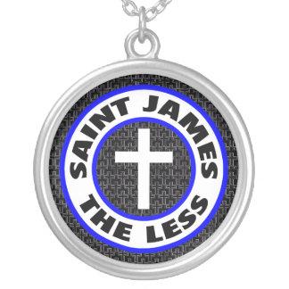 St James kleiner Versilberte Kette