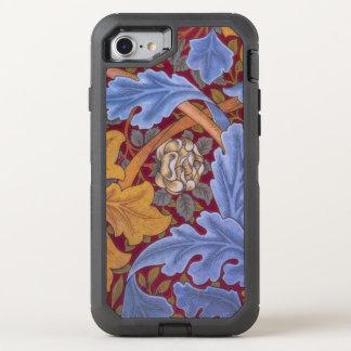 St JamesVintager Blumendamast OtterBox Defender iPhone 8/7 Hülle