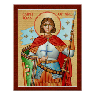 St. Jeanne d'Arc Poster