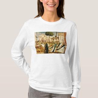 St Jerome und Löwe im Kloster, 1501-09 T-Shirt
