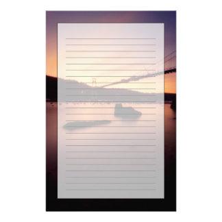 St- Johnsbrücken-Sonnenuntergang Briefpapier