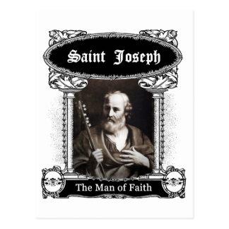 St Joseph - der Mann des Glaubens Postkarte