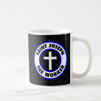 St Joseph die Arbeitskraft Kaffeetasse