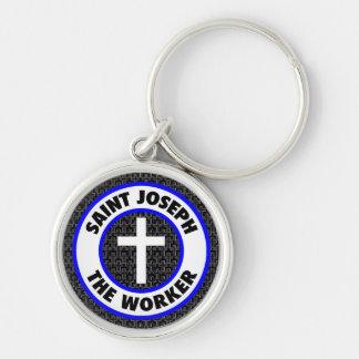 St Joseph die Arbeitskraft Schlüsselanhänger