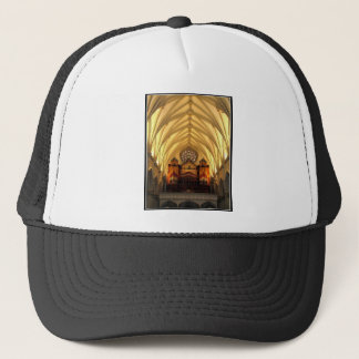 St Joseph Kathedrale - Chor-Dachboden/Orgelpfeifen Truckerkappe