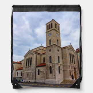 St Joseph Kirche in Sarajevo. Bosnien und Herz Sportbeutel