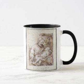 St Joseph mit dem schlafenden Christus-Kind (Stift Tasse