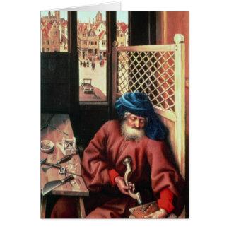 St Joseph schilderte als mittelalterlicher Karte