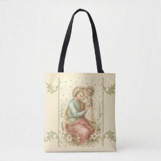 St Joseph u. Baby Jesus Tasche