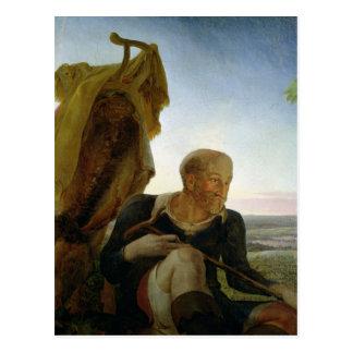 St Joseph 'von der Erholung auf dem Flug in Egypt Postkarte