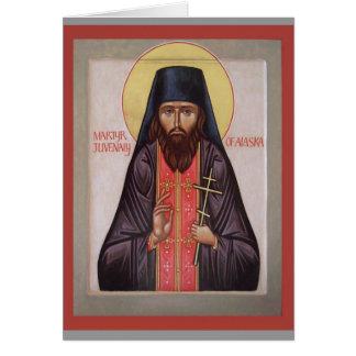 St.Juvenaly Ikone Anmerkung Karte