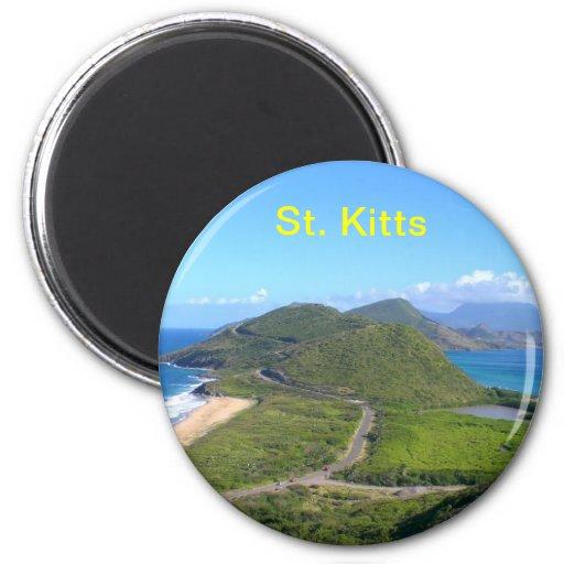 St. Kitts Karibisches Meer, St. Kitts Kühlschrankmagnet