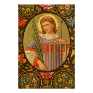 St. Lawrence von Plakat #2 Roms (P.M. 04)