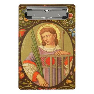 St. Lawrence von Rom (P.M. 04) Mini Klemmbrett