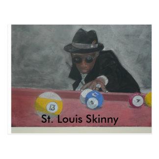 St. Louis dünn Postkarte
