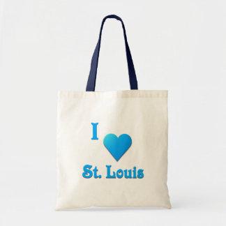 St. Louis -- Himmel-Blau Tragetasche