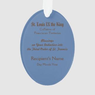 St. Louis IX der König (P.M. 05) Acryl Ornament
